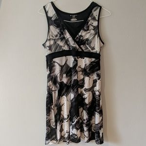 Black and White athletic dress